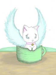 Your Kitty Is Served x3 by MirandaMaija