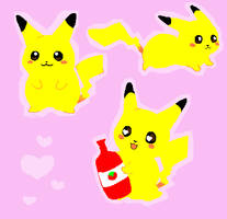 Pika Pika by MirandaMaija