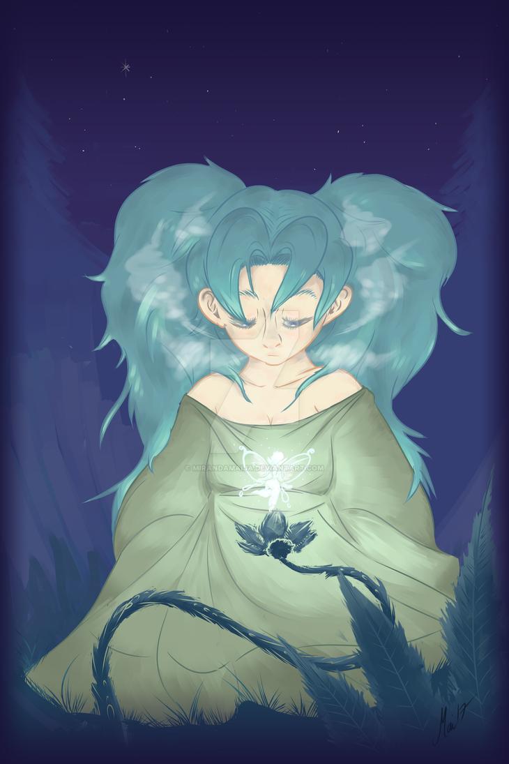 Fairy of the dawn by MirandaMaija