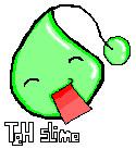 teh slime from maplestory by MirandaMaija