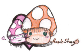 maple mushroom's by MirandaMaija
