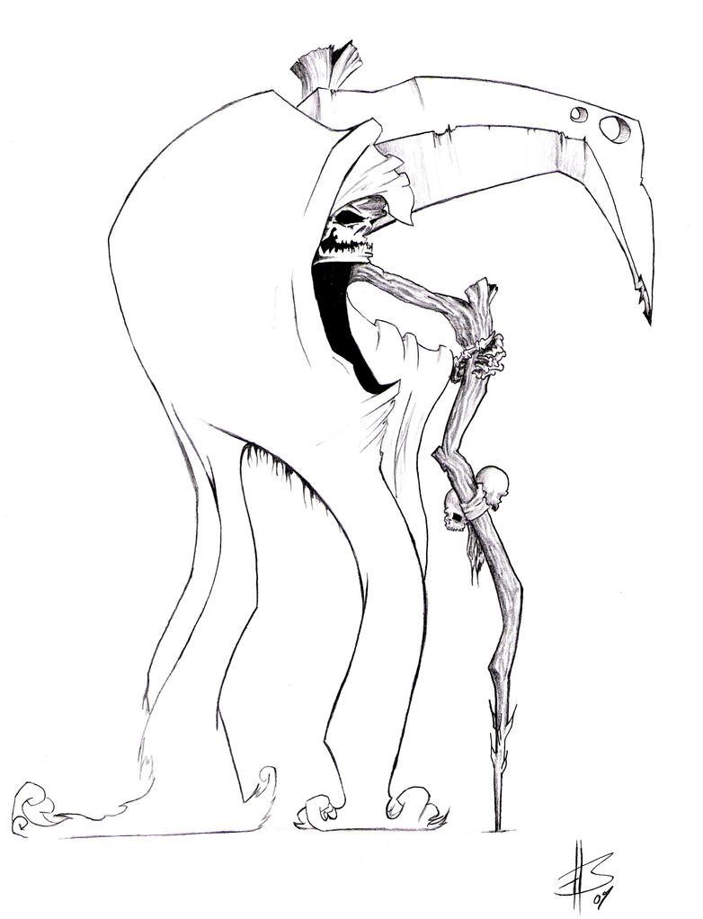 the grim reaper by apb art