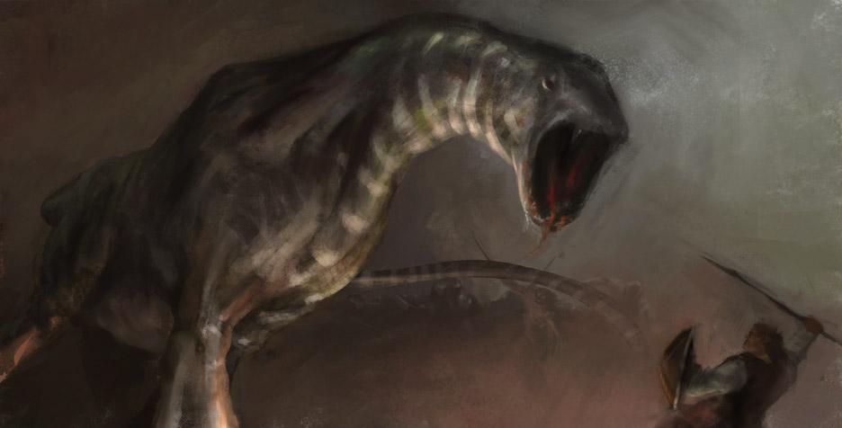Hyenozaur by artozi