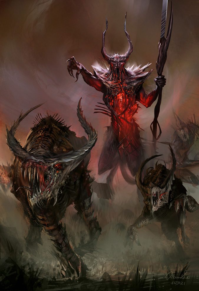 Demon lord by artozi on deviantart for Domon pictures