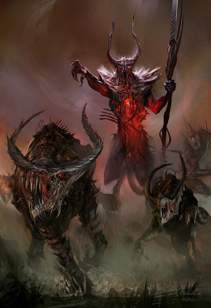 ~~Bestário~~ Demon_Lord_by_artozi