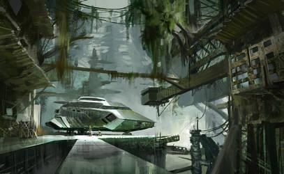 Jungle of the future by artozi