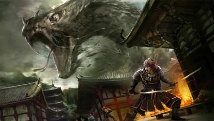 Samurai Challenge 1 by artozi