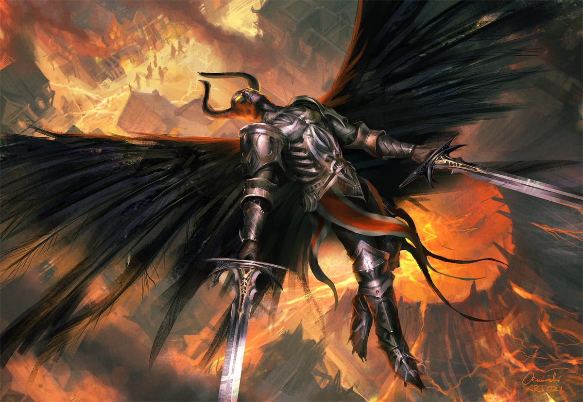 Black angel by artozi