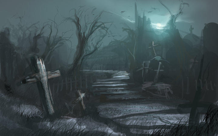 The Limbo Cemetery__sketch_by_artozi