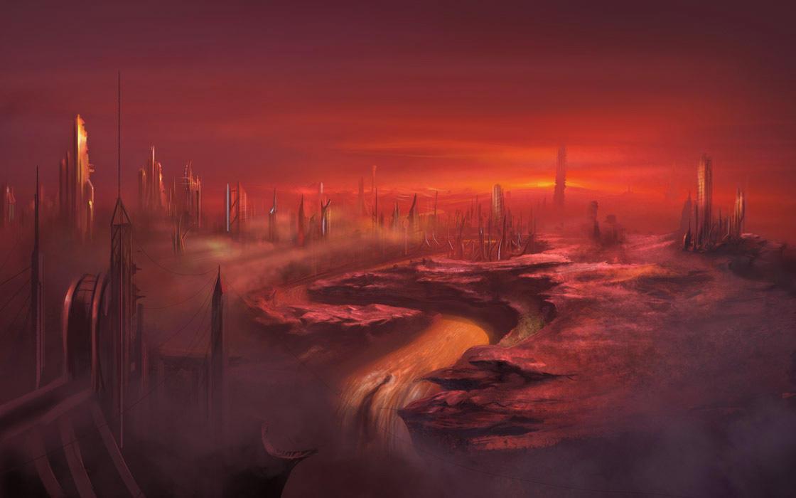 Colony on Mars by artozi