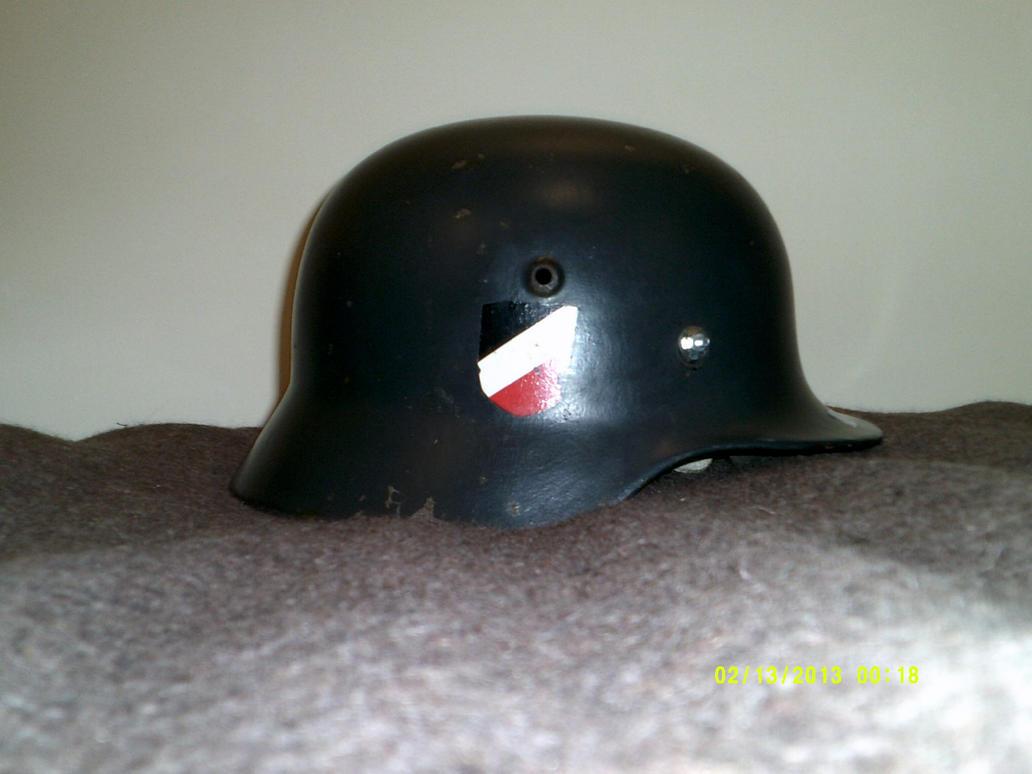 German M35 Stahlhelm by extondude