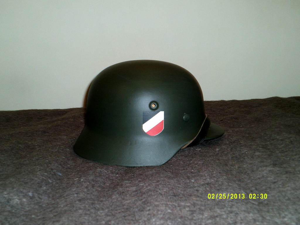 German M35 Stahlhelm restored by extondude