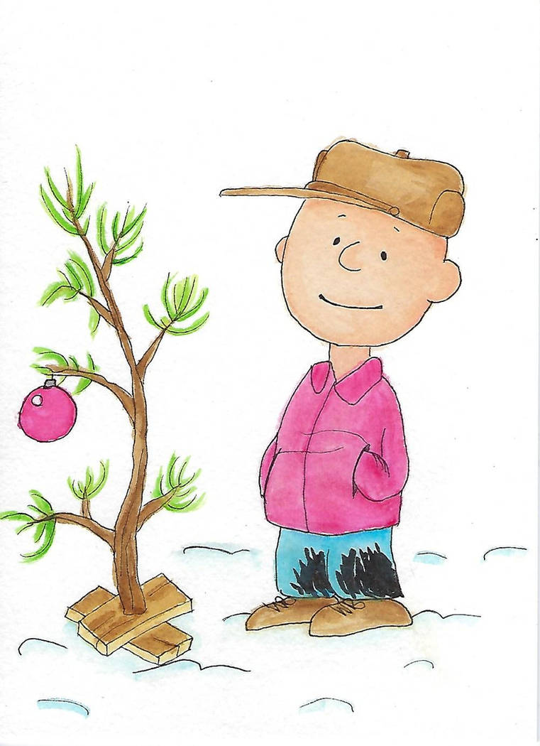 Charlie Brown Christmas Tree Drawing.A Charlie Brown Christmas By Amethystdove On Deviantart