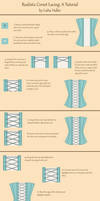 Corset Lacing Tutorial by Yesterdays-Thimble