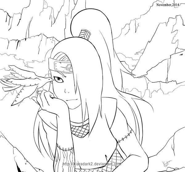 Naruto - Deidara by KiaraDark2
