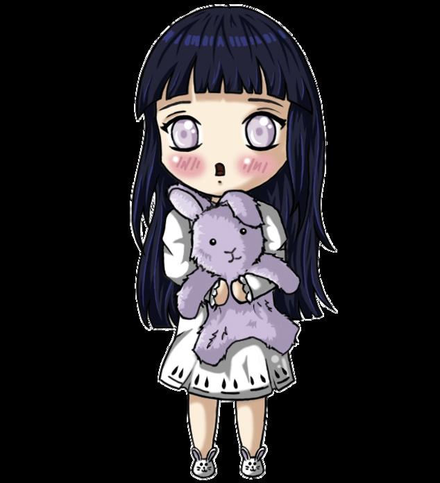 chibi Hinata - animation by lavender100