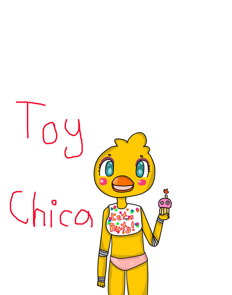 Fnaf 2 toy chica by uni pandafnaf on deviantart