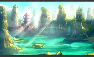 Xanghiu lands-Speed painting