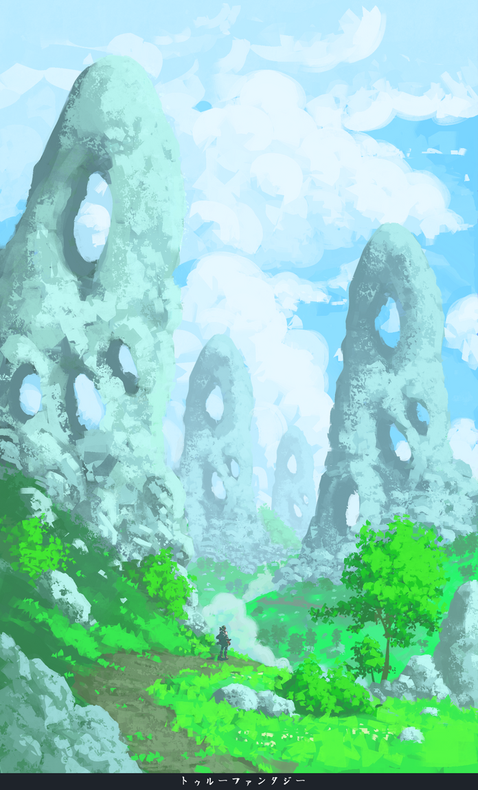 True Fantasy - Valley by RatonBallZ
