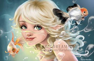 Misuzu portrait commission by Dream-Sight