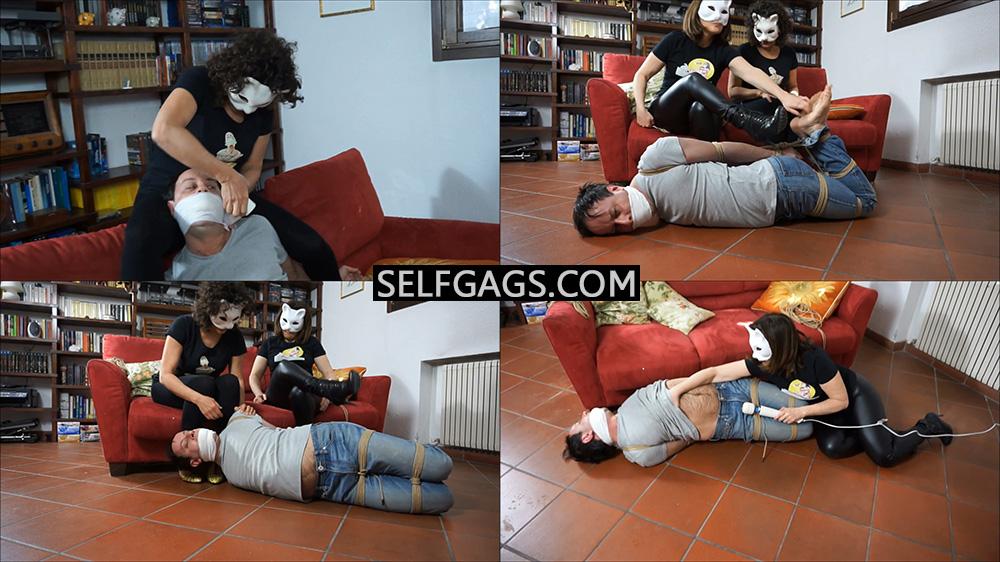 Femdom Bondage by Selfgags