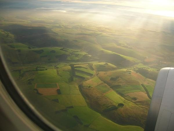 A view of Scotland from a Plane by Neuk