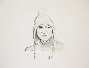 Picard in a woolly hat