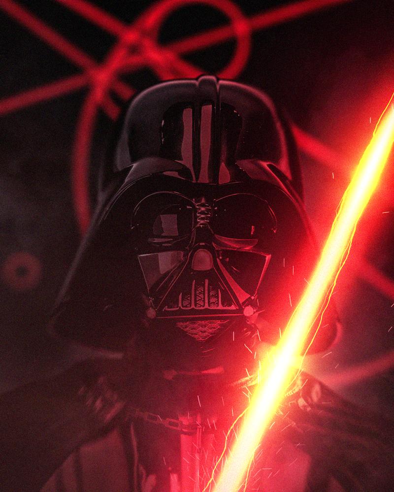 Darth Vader Unstable Lightsaber by LitgraphiX