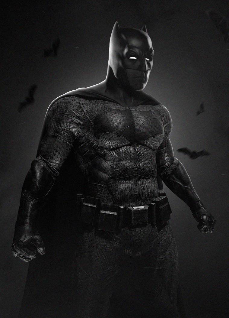 The Dark Knight by LitgraphiX