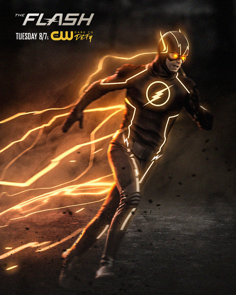 Top CW The Flash Poster by LitgraphiX on DeviantArt #QY83