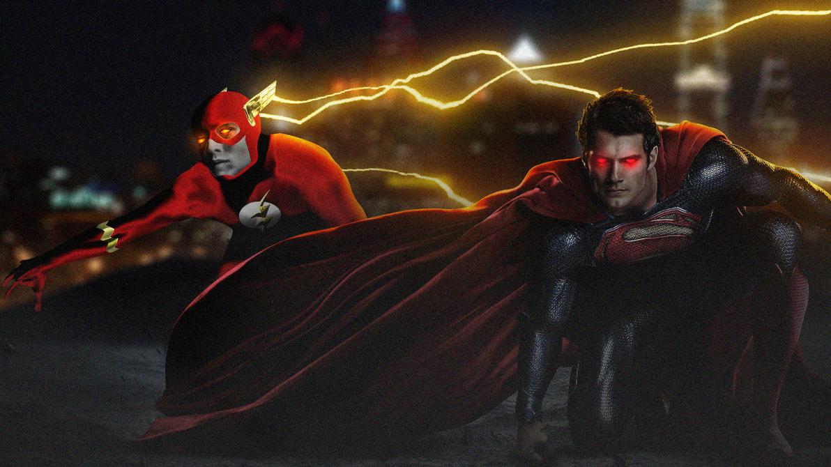 The Flash x Superman by LitgraphiX