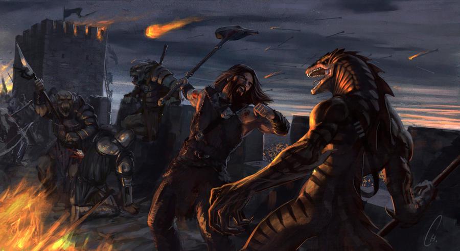 Lem Battle by charro-art