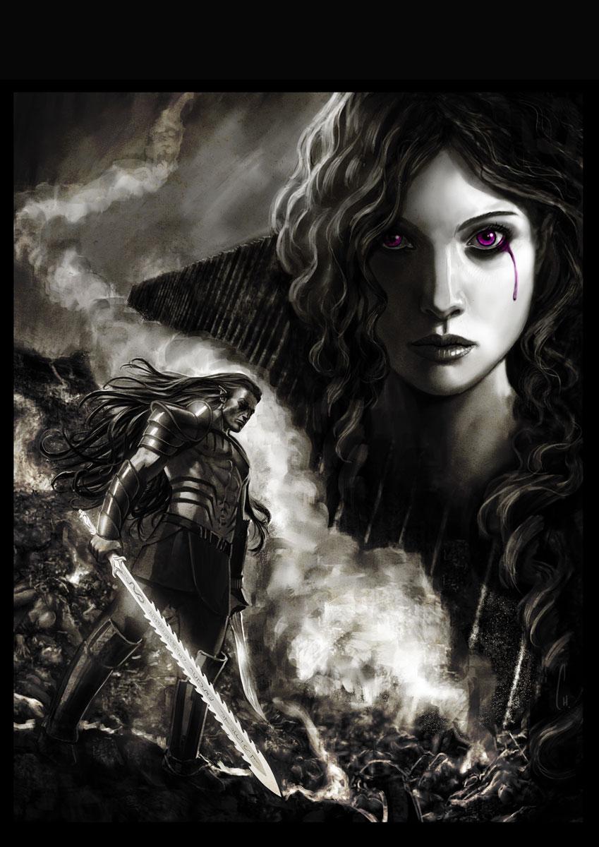 Allwenn: Soul and Sword by charro-art