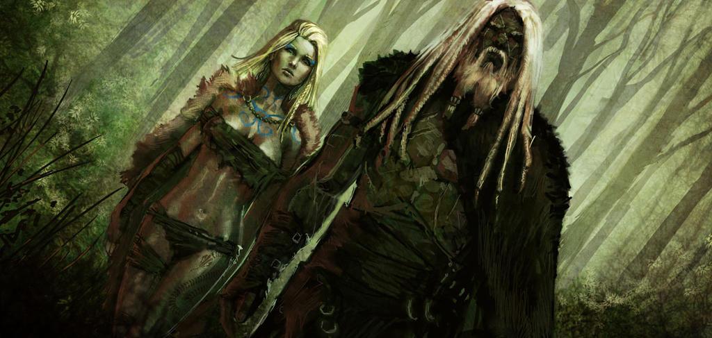Blood and Glory : Legend (II-II) by charro-art