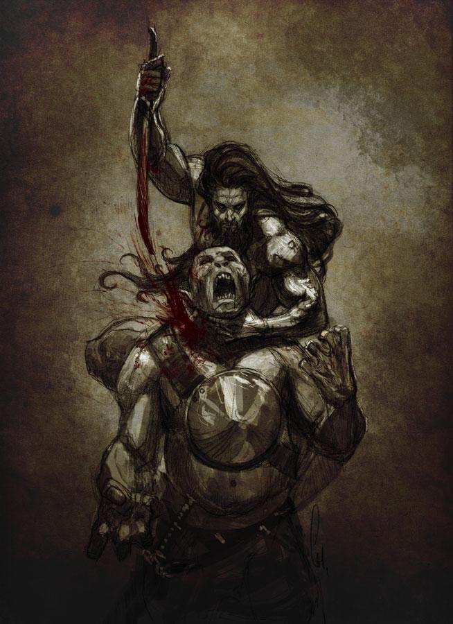 Blood Tribute by charro-art