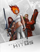 Cover Art for 'HITOS' Generic Roleplaying System by charro-art