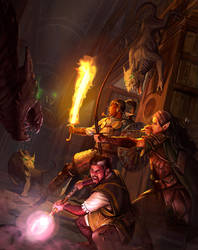 Fantasy AGE Companion cover art by charro-art