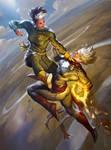 Rogue vs Captain Marvel