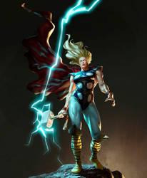 She-Thor by charro-art
