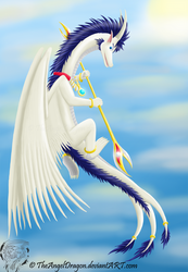 Fly to the Heavens  by TheAngelDragon