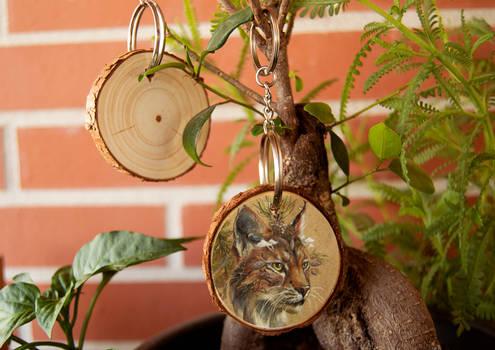 Limited Botanical Animals Keyrings on Etsy