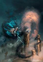 Clouds creature