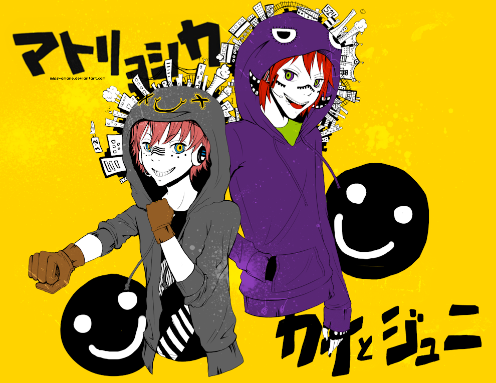 Matryoshka - Kai Kashine and Juni Ginkuro by pockypaint