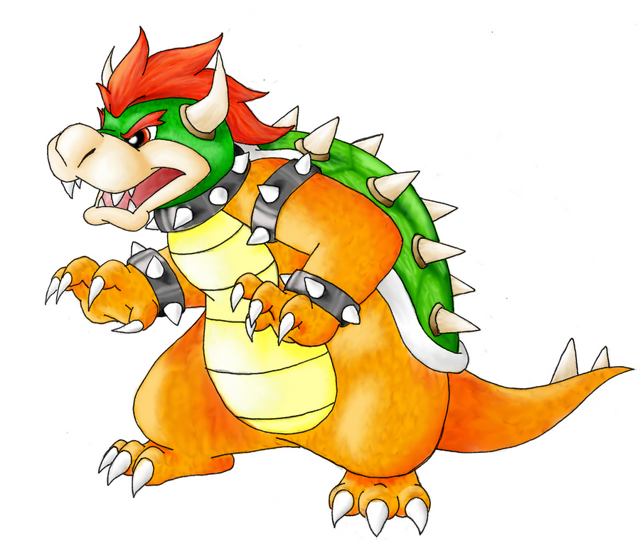 Bowser by nin10do-gamer