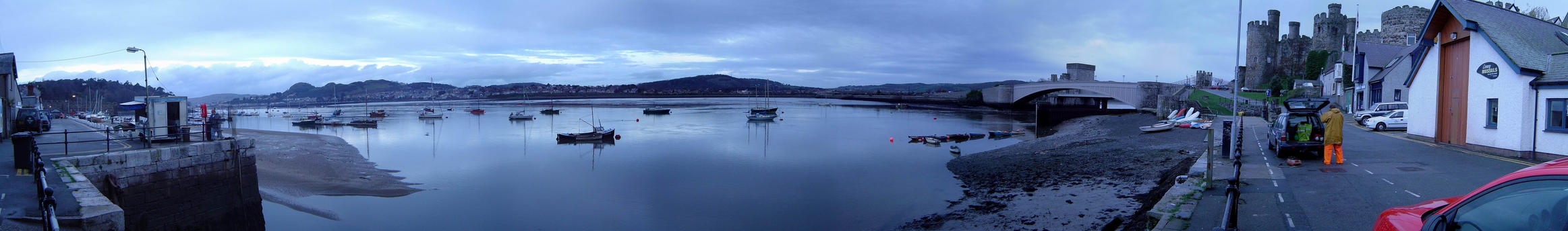 conwy, wales by peHa