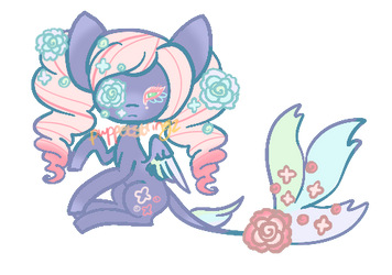 Closed Pegasus Adopt by puppetstringz