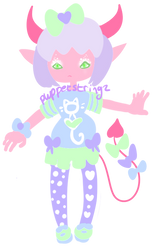 Closed  Sweet Monster Adopt by puppetstringz