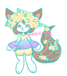 Closed Kitty Adopt by puppetstringz