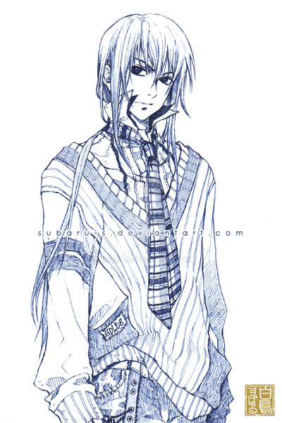 DGM: Kanda Yuu by subaru-s