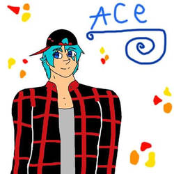 Minecraft OC Ace by AnimeMonsterExorist